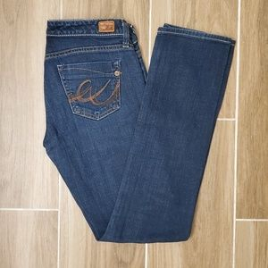Express X2 Skinny W01 'Ultra Low Rise' Jeans